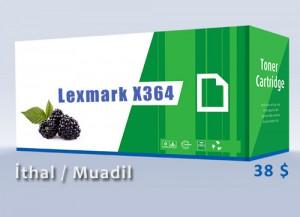 LexmarkX364